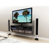 Series 9 Designer 58 Inch Wide Wall Mounted Audio Video - Black - PRE-BCAW-0508-1