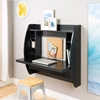 Floating Desk with Storage - Black - PRE-BEHW-0200-1