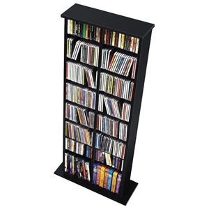 Hackett Double Multimedia Storage Tower