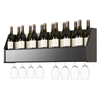 Floating Wine Rack - Black - PRE-BSOW-0200-1