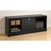 Series 9 Designer Cubbie Bench with Door - Black - PRE-BUBR-0501-1