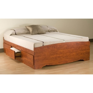 Drake Full Mates Platform Storage Bed with 6 Drawers