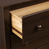 Fremont Espresso Tall Nightstand with Open Shelf - PRE-EDC-2428