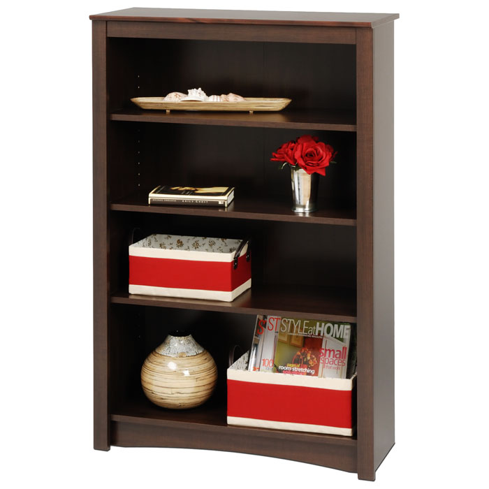 Sonoma 4-Shelf Contemporary Bookcase - PRE-XDL-3248