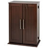 Garrett Locking Media Storage Cabinet with Shaker Doors - PRE-XLS-0192