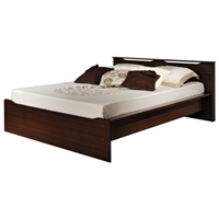 Coal Harbor Full Platform Bed with Headboard