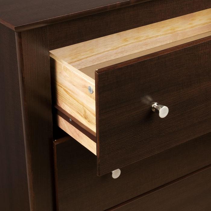 Berkshire wood nightstand with 2 drawers dcg stores for Wood nightstand with drawers