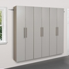 HangUps 3-Piece 72 Inch Storage Cabinet Set - Light Gray - PRE-GRGW-0703-3M