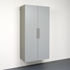 HangUps 36 Inch Large Storage Cabinet - Light Gray - PRE-GSCW-0708-2K