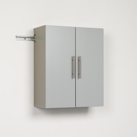 Hangups 24 inch upper storage cabinet light gray dcg for 24 inch upper kitchen cabinets
