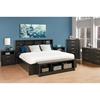 District King Headboard - Washed Black - PRE-HHFK-0500-1