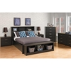 District Storage Bench - Washed Black - PRE-HUBD-0500-1