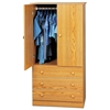 Edenvale Junior Wardrobe with 3 Drawers - PRE-JXD-3060-K