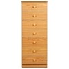 Edenvale 7-Drawer Tall Chest - PRE-XBD-2050-7