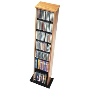 Hackett Slim Multimedia Storage Tower