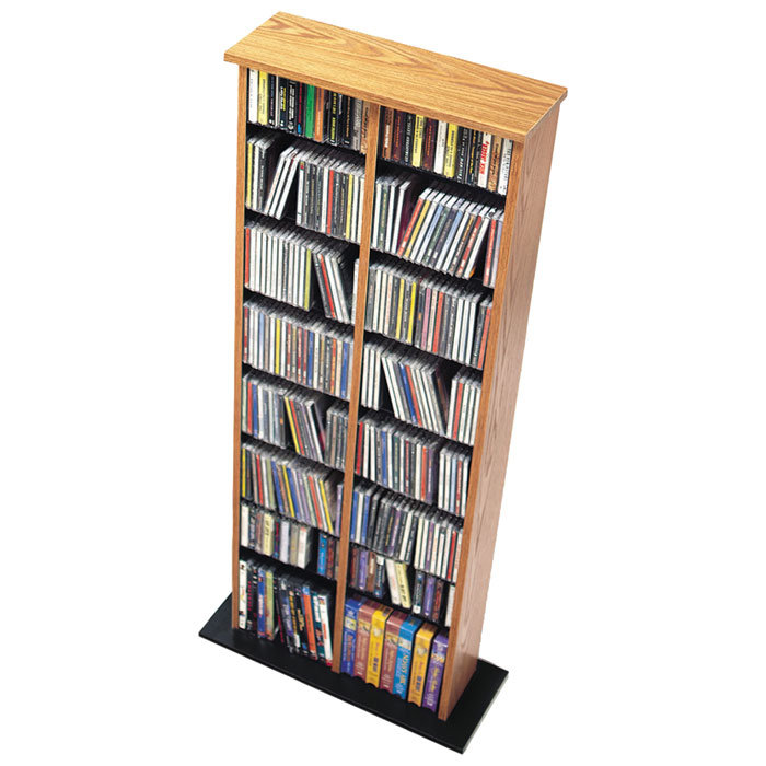 Hackett Double Multimedia Storage Tower - PRE-XMA-0320