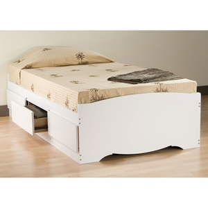 Drake Twin Mate%27s Platform Storage Bed with 3 Drawers
