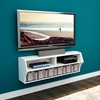 Altus Wall Mounted Audio Video Console - White - PRE-WCAW-0200-1