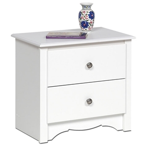 Monterey 2-Drawer Nightstand