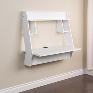 Studio Floating Desk - Pure White