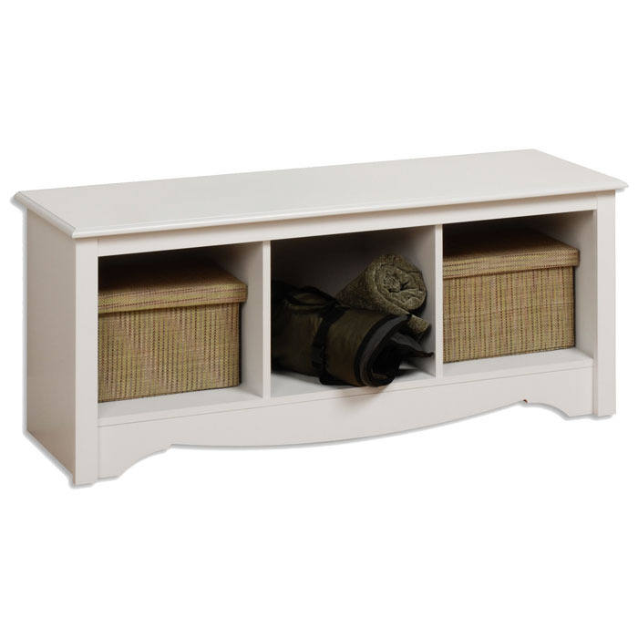 Sonoma Cubbie Bench with Three Compartments - PRE-XSC-4820-2