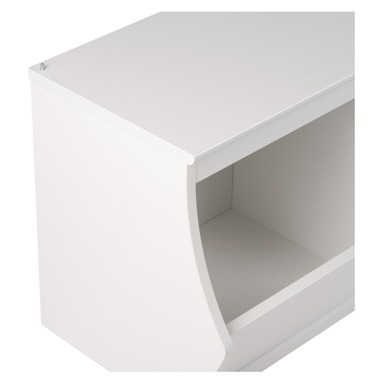 ... Monterey Stackable 3 Bin Storage Cubby   White   PRE WUSM 0003  ...