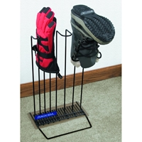 Freestanding Boot & Glove Dryer - Coated Wire, Black