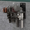 The Holster Gun Safe Rack - 4 Pistols, Black - RCKM-6021
