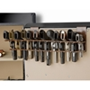 The Holster Gun Safe Rack - 12 Pistols, Brown - RCKM-6040