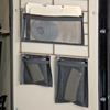 Gun Safe Rack File Pouch - Nylon Mesh, Black - RCKM-6143
