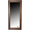 Rectangular Mirror - Bronze Finished Frame, Black Trim - RAY-R015T