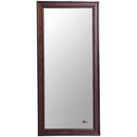 Rectangular Mirror - Country Pine Finished Frame