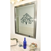 Wall Mirror - Silver Finished Frame, Beveled Glass - RAY-R001