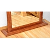 Full Length Floor Mirror Walnut Finished Frame Dcg Stores