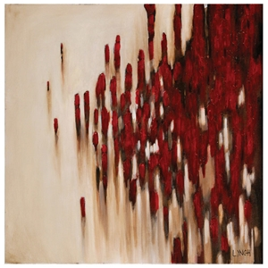 Passing By Oil Painting - Abstract, Square Canvas