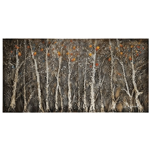 Rugged Forest Oil Painting - Gallery-Wrapped Canvas