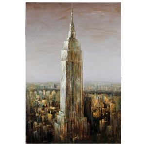 Empire State Oil Painting - Rectangular Canvas