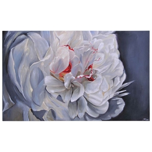 Floral Elegance Oil Painting - Still Life, Rectangular Canvas