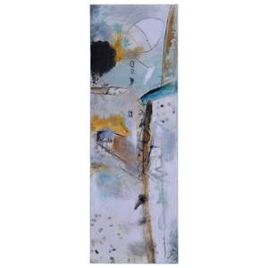 Urban Decay II Oil Painting - Abstract Art, Rectangular Canvas