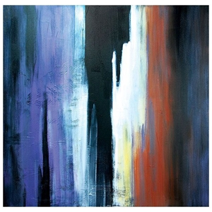 Indistinction Oil Painting - Abstract, Square Canvas
