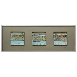 Mixed Feelings Wall Decor - Abstract, Silver Frame, Rectangular