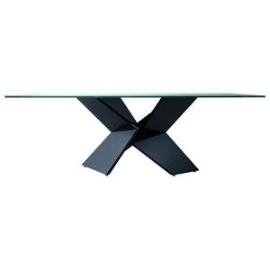 Sapphire Glass Dining Table