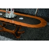 Platinum Oval Extension Table - ROS-R801251000000
