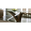 Mirage Wenge Glass Table - ROS-R993010000X06