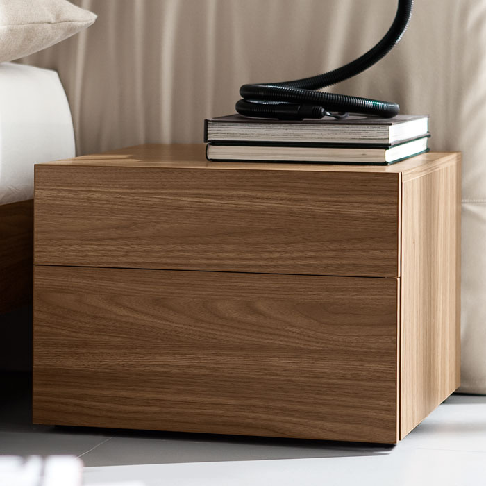Start Walnut Nightstand - ROS-T411201000001