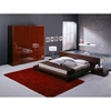 Win 4 Piece Wenge Bedroom Set - ROS-T2666BBCXX206-4S