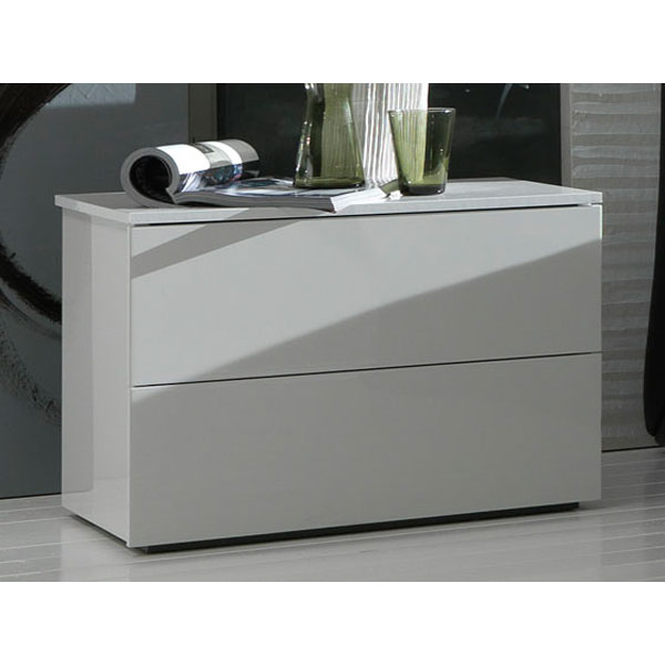 Fun White Nightstand - ROS-T28620400LU17