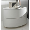Coco Moon White Nightstand - ROS-T2862050100RB