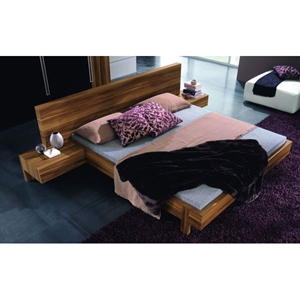 Gap Walnut Bed with Nightstands