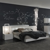 Nightfly 5 Piece White Bedroom Set - ROS-T4126003XX068-5S